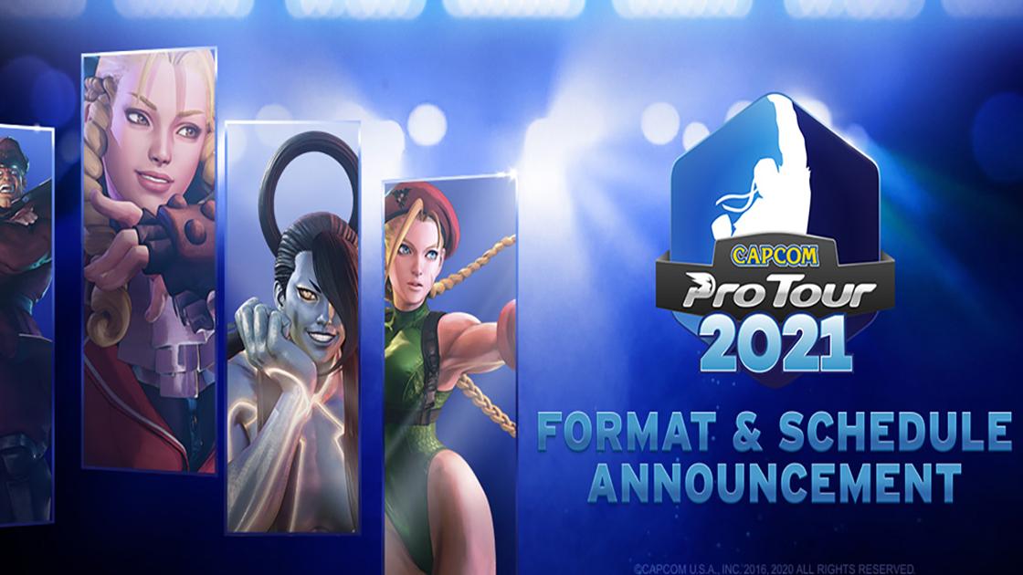 ストⅤ 「CAPCOM Pro Tour 2021」4/17(土)から開幕! 去年に引き続きオンラインでの開催へ